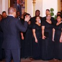 Central State University Chorus Performs at the White House