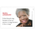 The Late Maya Angelou Honored by the U.S. Postal Service