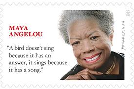 Angelou stamp