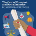 The Economic Cost of Racial Inequality in Higher Education